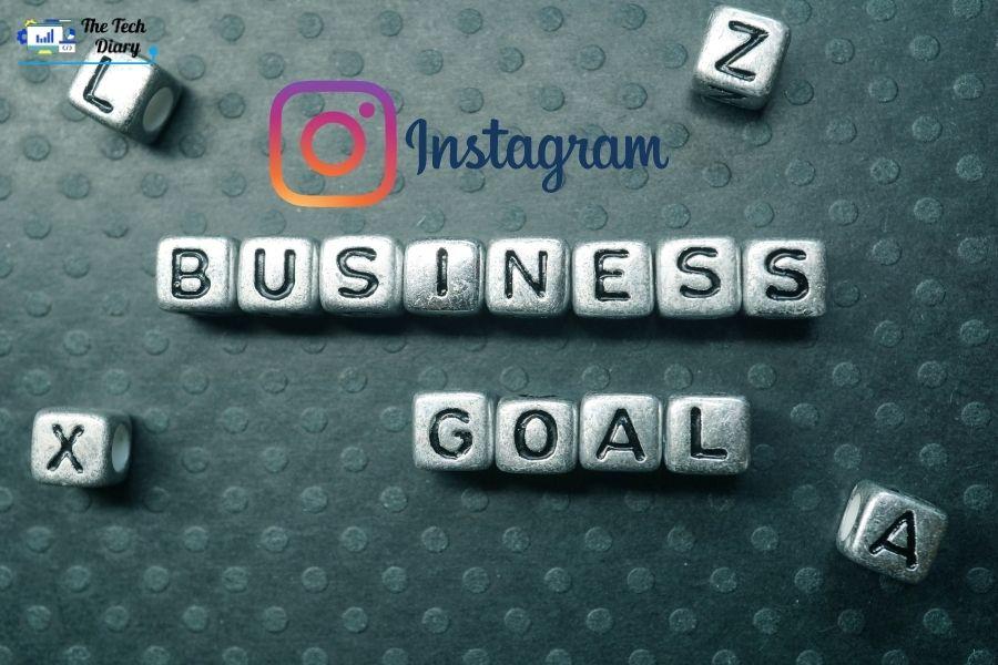 goals for business on Instagram